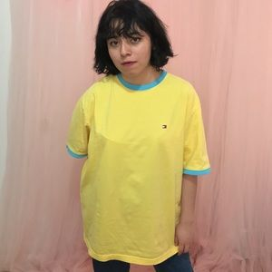 Yellow & Blue Tee